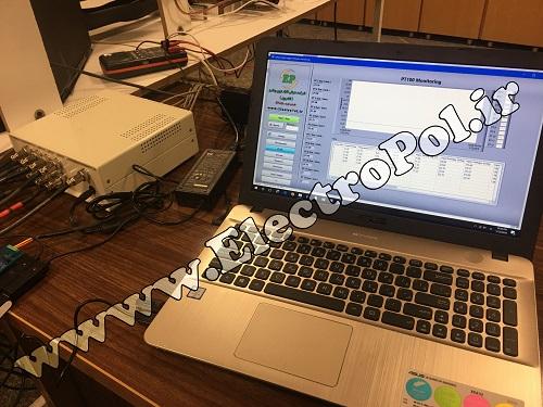 الکتروپل - نرم افزار دیتالاگر با LabVIEW - آزمایشگاه مکانیک دانشگاه تهران