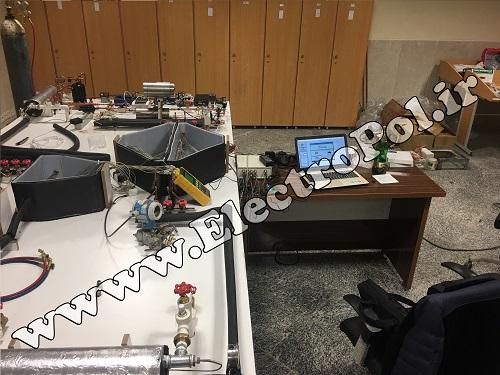 الکتروپل - دیتالاگر برای میز تست سیال - آزمایشگاه مکانیک
