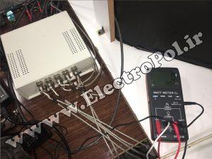 الکتروپل - دیتالاگر برای واتمتر لوترون - آزمایشگاه مکانیک